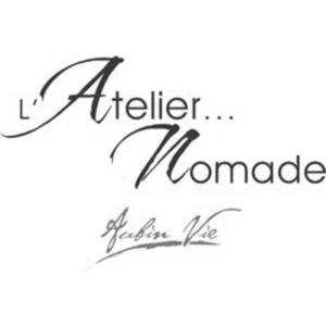 Logo Atelier Nomade - Client groupe de musique Marie Jeanne Swing