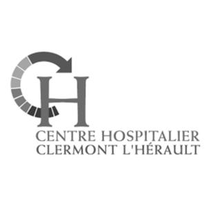 Logo Centre hospitalier Clermont l'Hérault - Client groupe de musique Marie Jeanne Swing