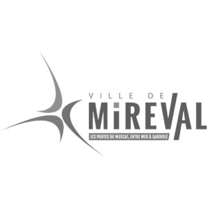 Logo Mireval - Client groupe de musique Marie Jeanne Swing