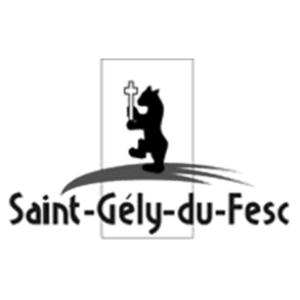 Logo Saint Gely du Fesc - Client groupe de musique Marie Jeanne Swing