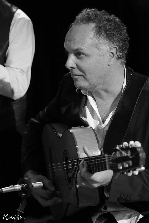 Bertrand Papy guitariste Marie Jeanne Swing musiciens mariage et concert