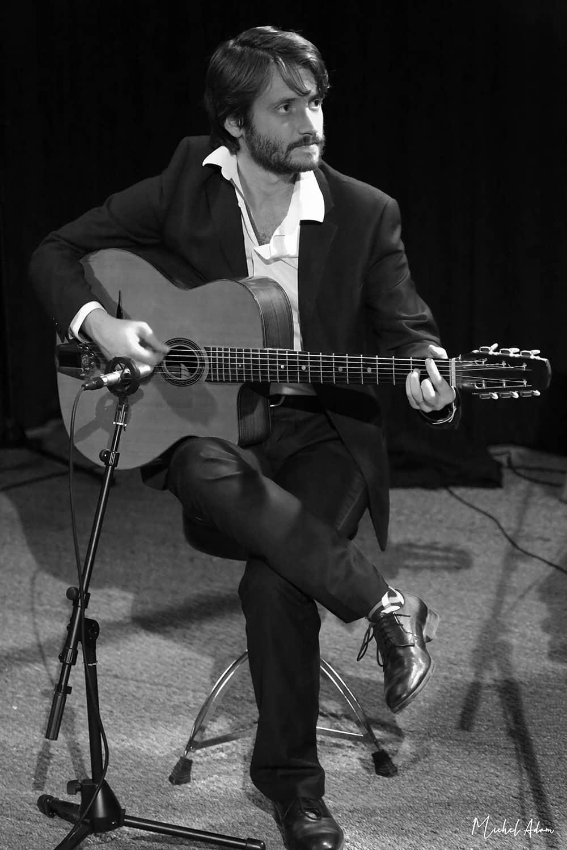 César Jacquot guitariste Marie Jeanne Swing