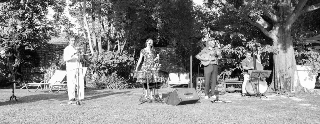 animation musicale jazzy château d'arpaillargues marie jeanne swing