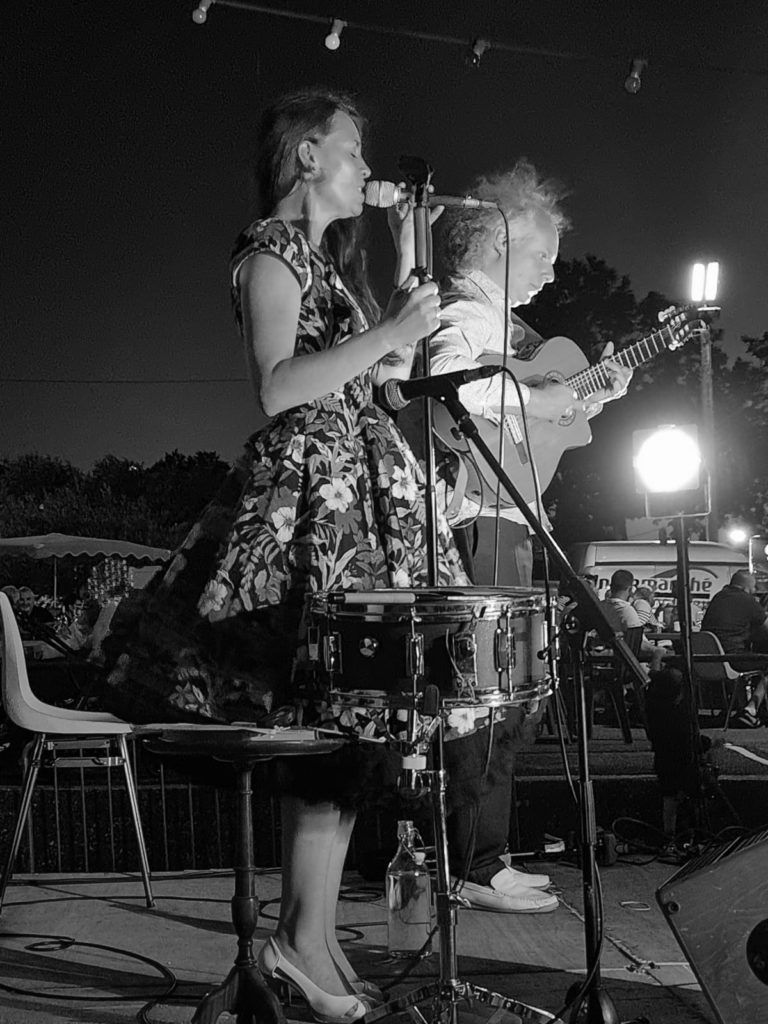 groupe de musique jazzy concert st jean de la blaquiere marie jeanne swing